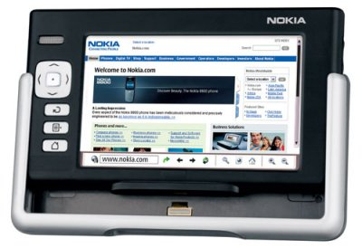 Nokia 770 - Internet Table